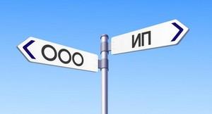 Что выбрать для создания: ООО или ИП?