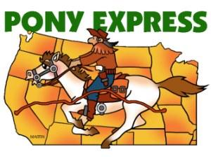 Курьерская служба Pony Express