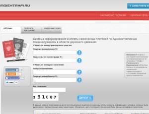 Сайт о всех видах штрафов