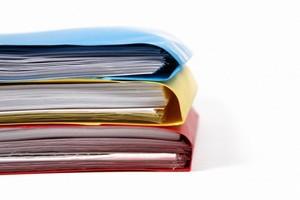 Различные документы, чтобы оформить покупку