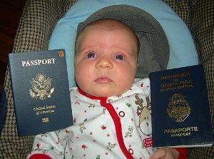 Если ребенок родился за границей