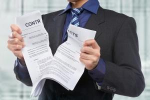 Расторжение договора аренды участка