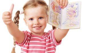 Оформляем загранпаспорт ребенку