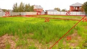 Наложение границ земельного участка