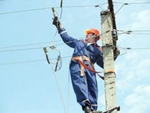 Для подключения электричества