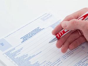 Особенности заполнения анкеты-заявления