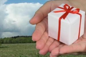 Подарить долю земельного участка