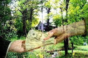Залог под земельный участок