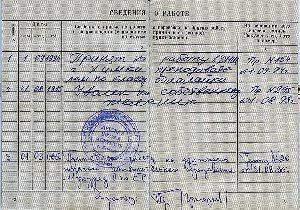 Подпись работодателя