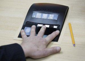 Отпечатки пальцев в загранпаспорт
