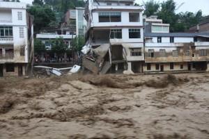 Наводнение как исключающий фактор